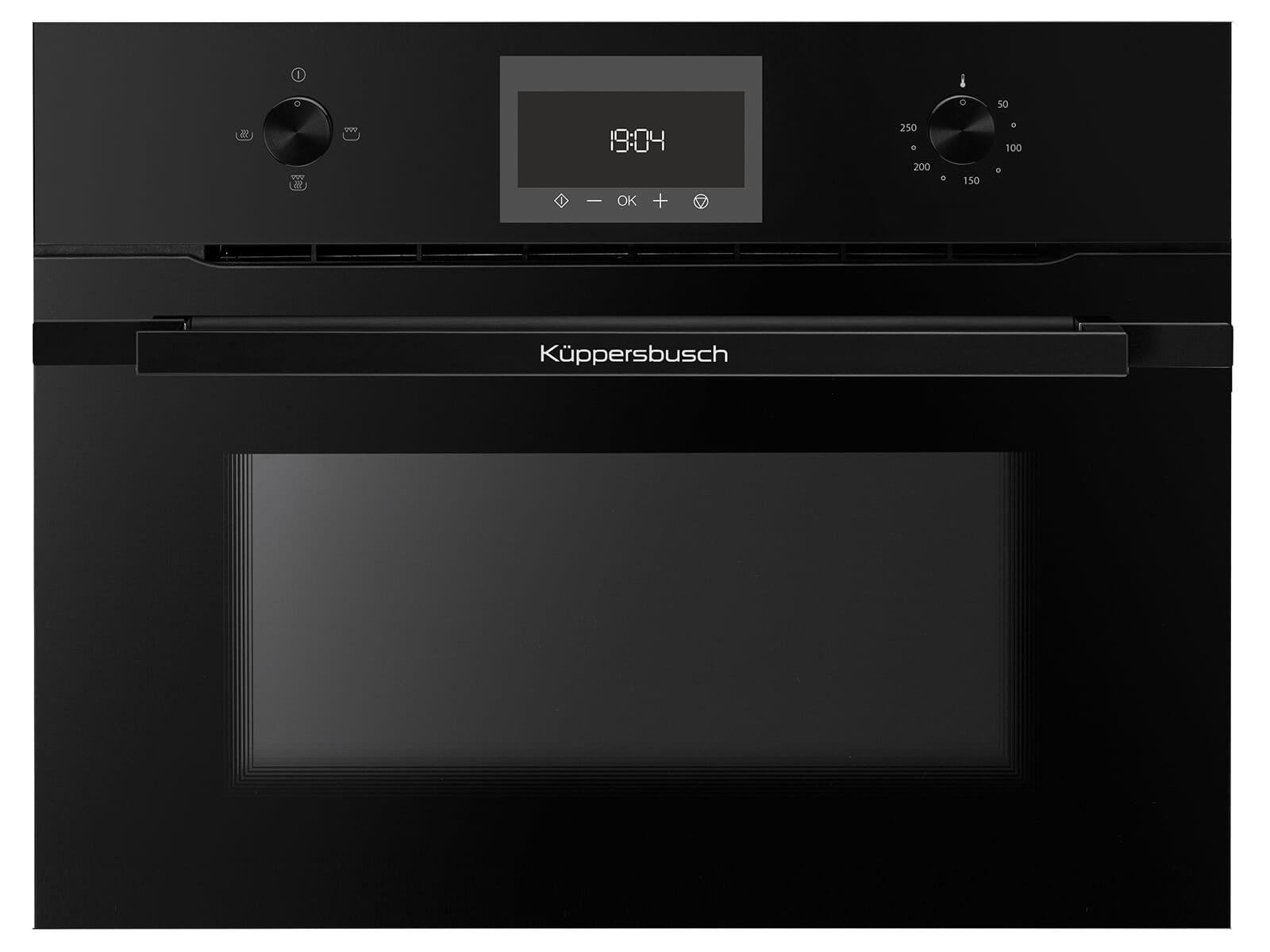 Küppersbusch CM 6330.0 SE5 K-Series. 3 Compact Einbau-Mikrowelle Schwarz/Black Velvet
