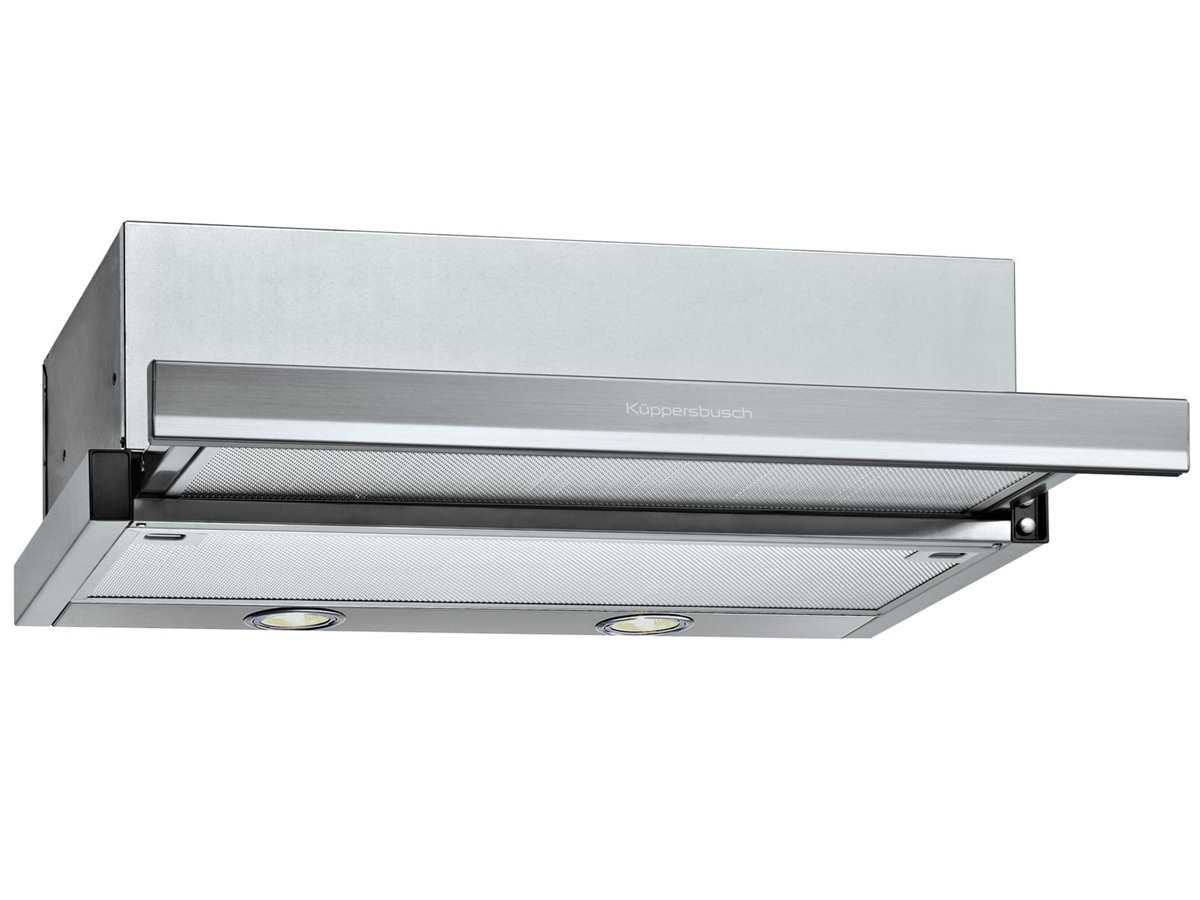 8 Flachschirmhaube Edelstahl Dunstabzug K/üppersbusch DEF 6800.0 K-Series