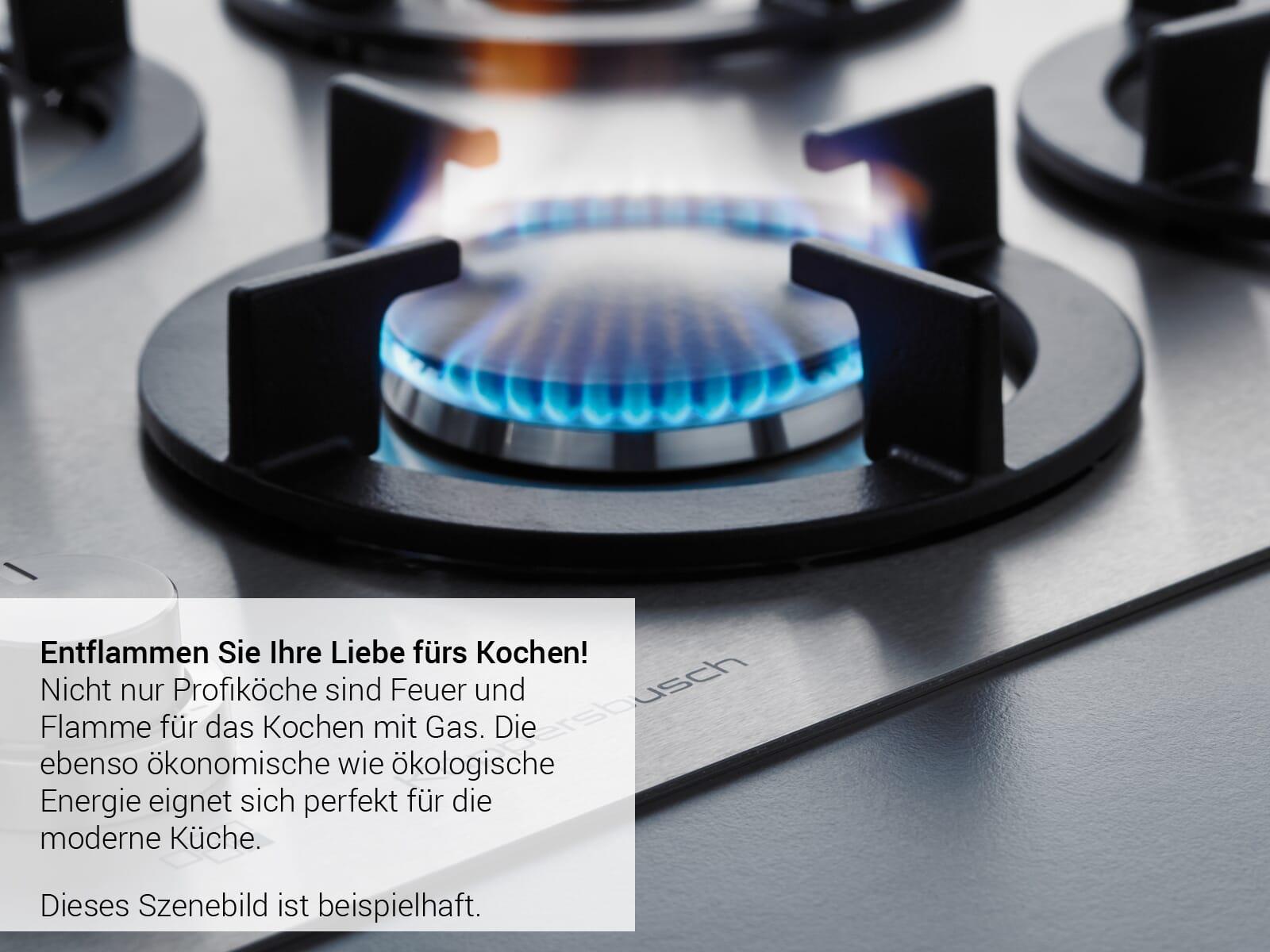 Küppersbusch GKS 9851.0 ED K-Series. 8 Gaskochfeld autark