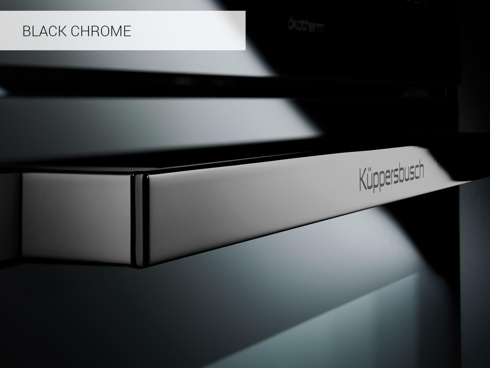 Küppersbusch CDK 6300.0 SE2 K-Series. 3 Dampfbackofen Schwarz/Black Chrome