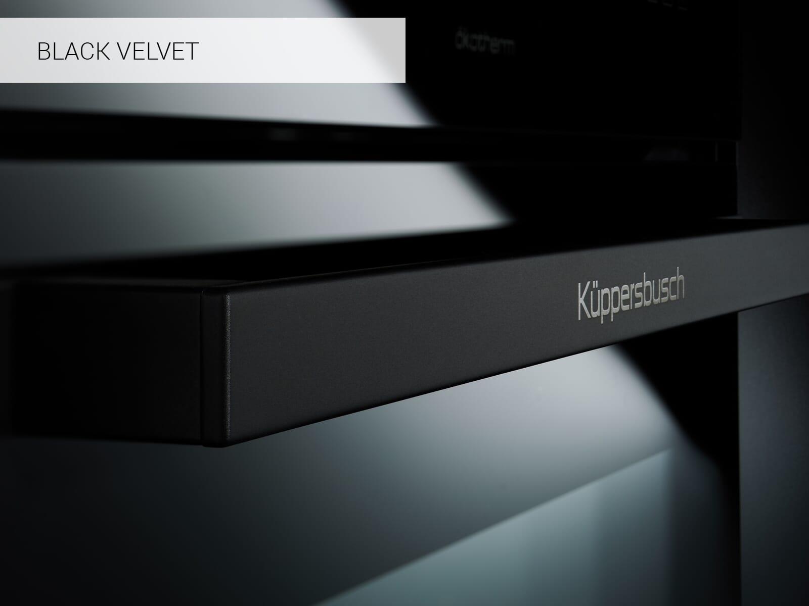 Küppersbusch B 6335.0 S5 Comfort+ Backofen Schwarz/Black Velvet