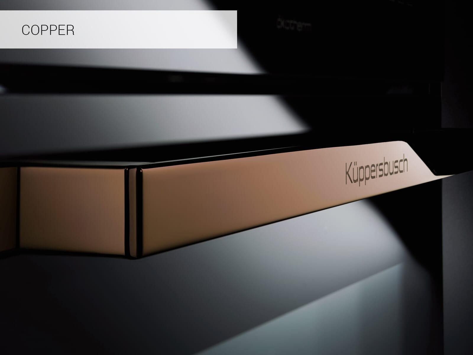 Küppersbusch CBM 6350.0 SE7 K-Series. 3 Compact Backofen mit Mikrowelle Schwarz/Copper