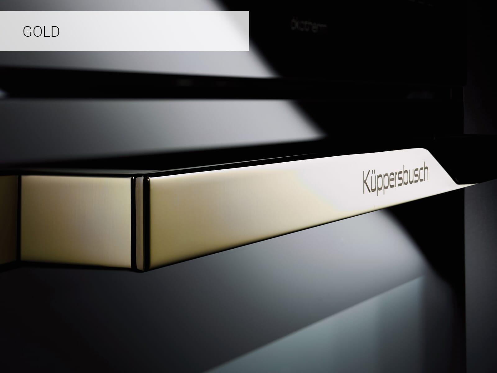 Küppersbusch B 6335.0 S4 Comfort+ Backofen Schwarz/Gold