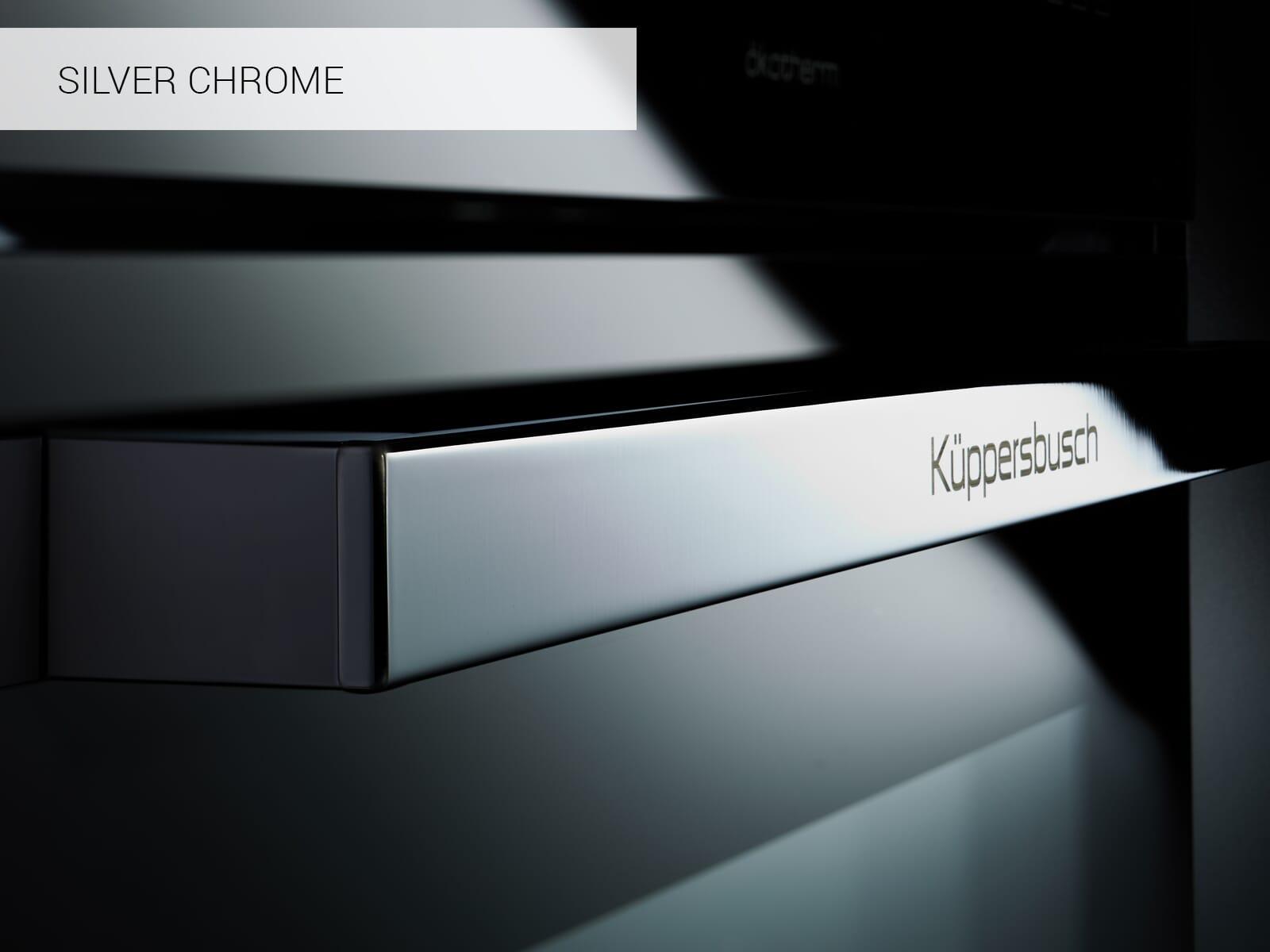 Küppersbusch B 6350.0 S3 Comfort+ Backofen Schwarz/Silver Chrome