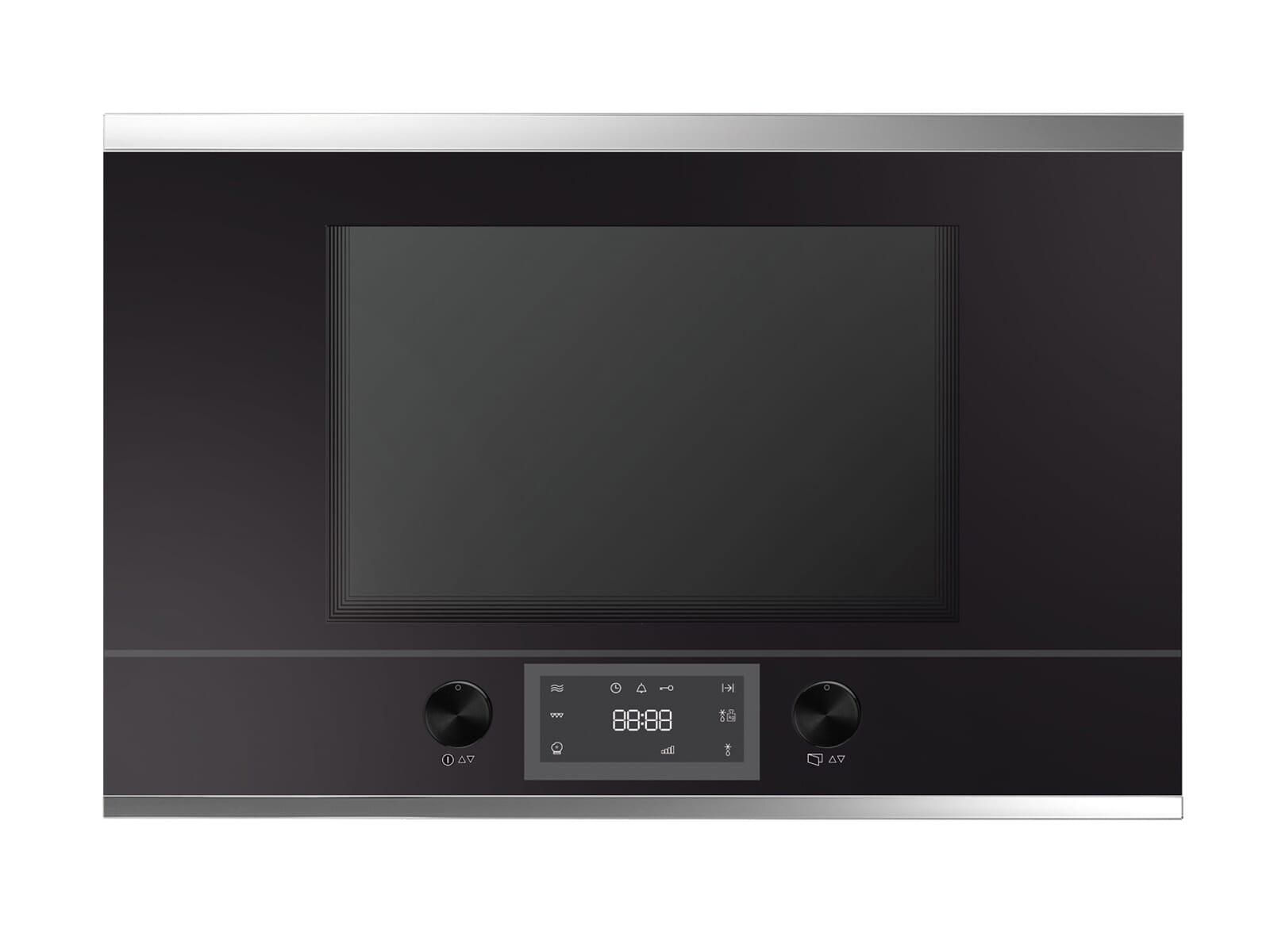 Küppersbusch ML 6330.0 S3 K-Series. 3 Einbau-Mikrowelle Schwarz/Silver Chrome