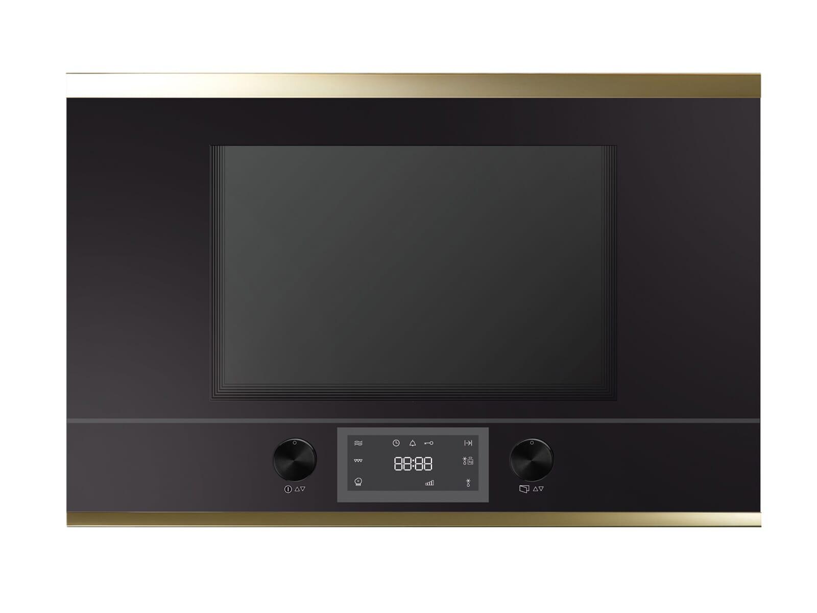 Küppersbusch ML 6330.0 S4 K-Series. 3 Einbau-Mikrowelle Schwarz/Gold