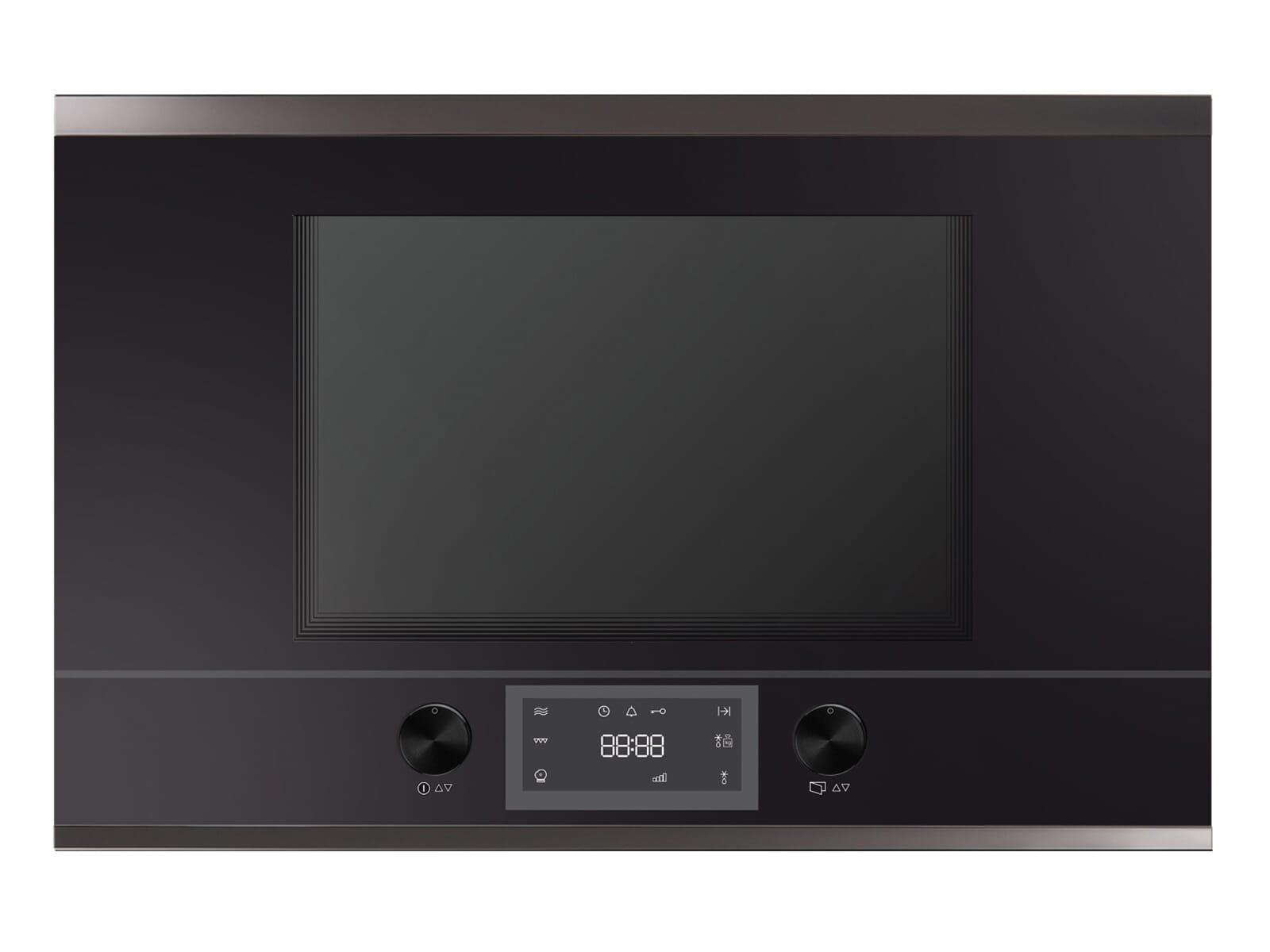 Küppersbusch MR 6330.0 S2 K-Series. 3 Einbau-Mikrowelle Schwarz/Black Chrome