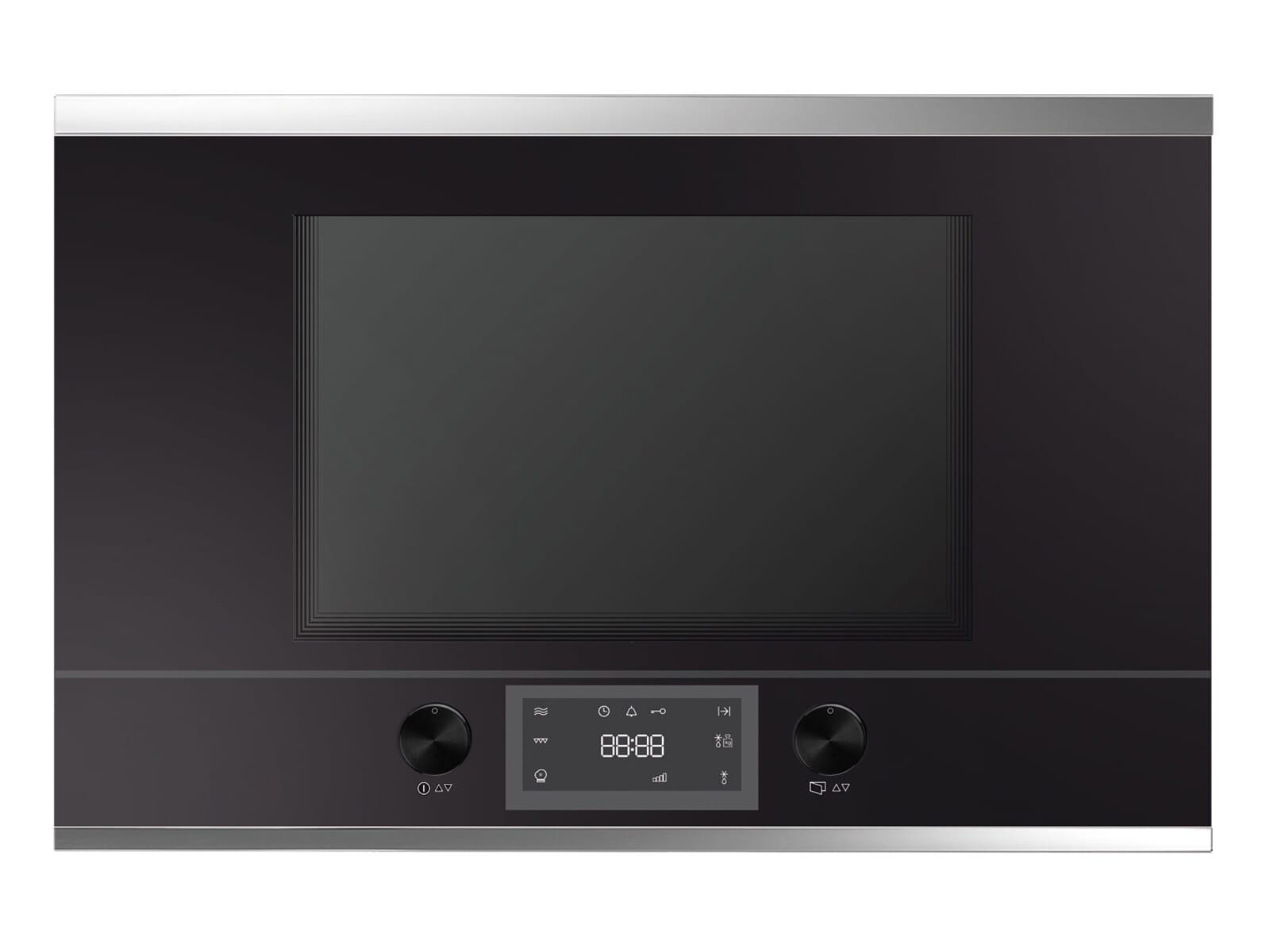 Küppersbusch MR 6330.0 S3 K-Series. 3 Einbau-Mikrowelle Schwarz/Silver Chrome