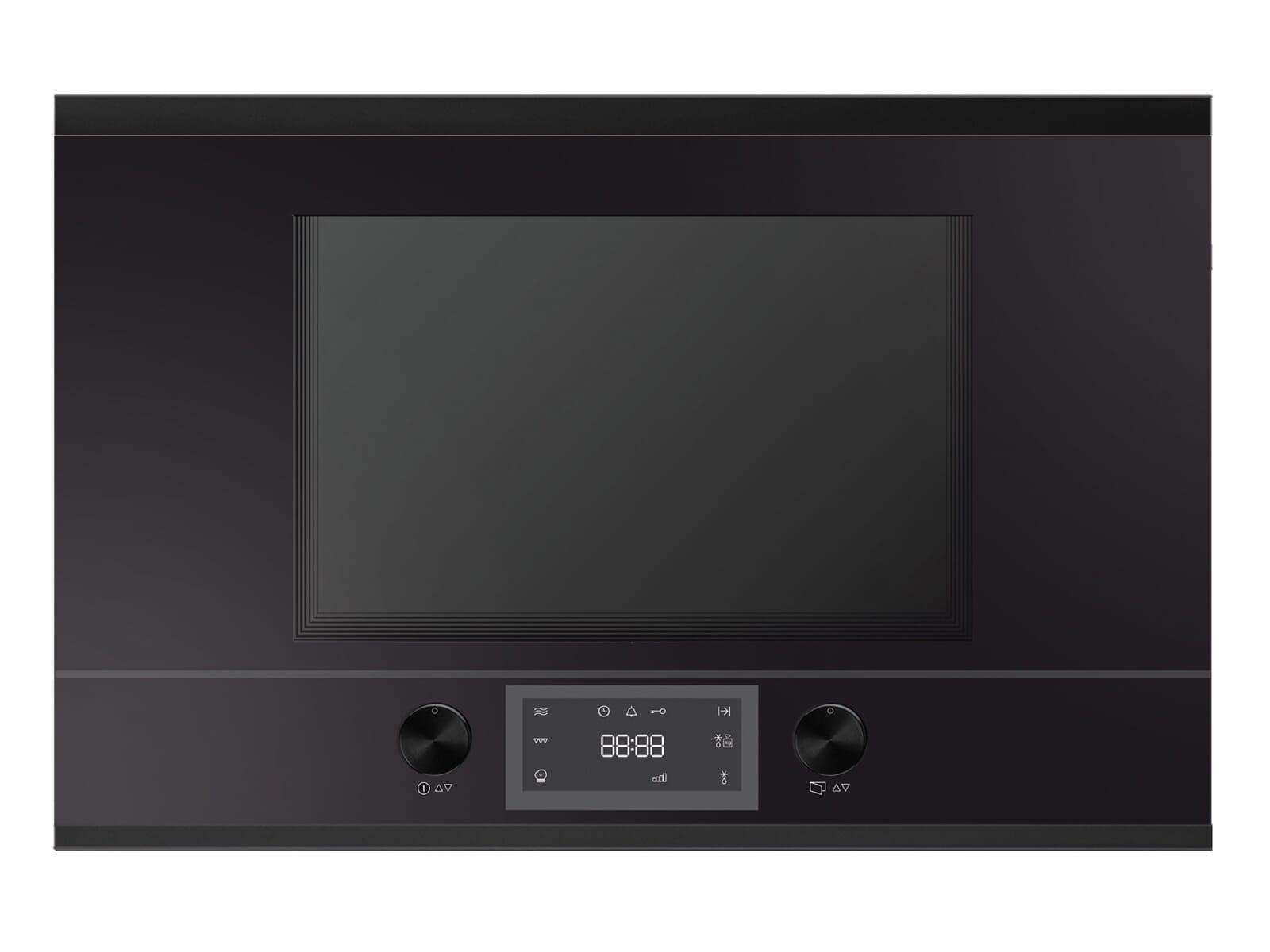 Küppersbusch MR 6330.0 S5 K-Series. 3 Einbau-Mikrowelle Schwarz/Black Velvet