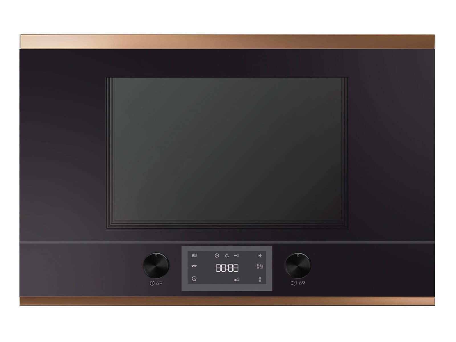 Küppersbusch MR 6330.0 S7 K-Series. 3 Einbau-Mikrowelle Schwarz/Copper