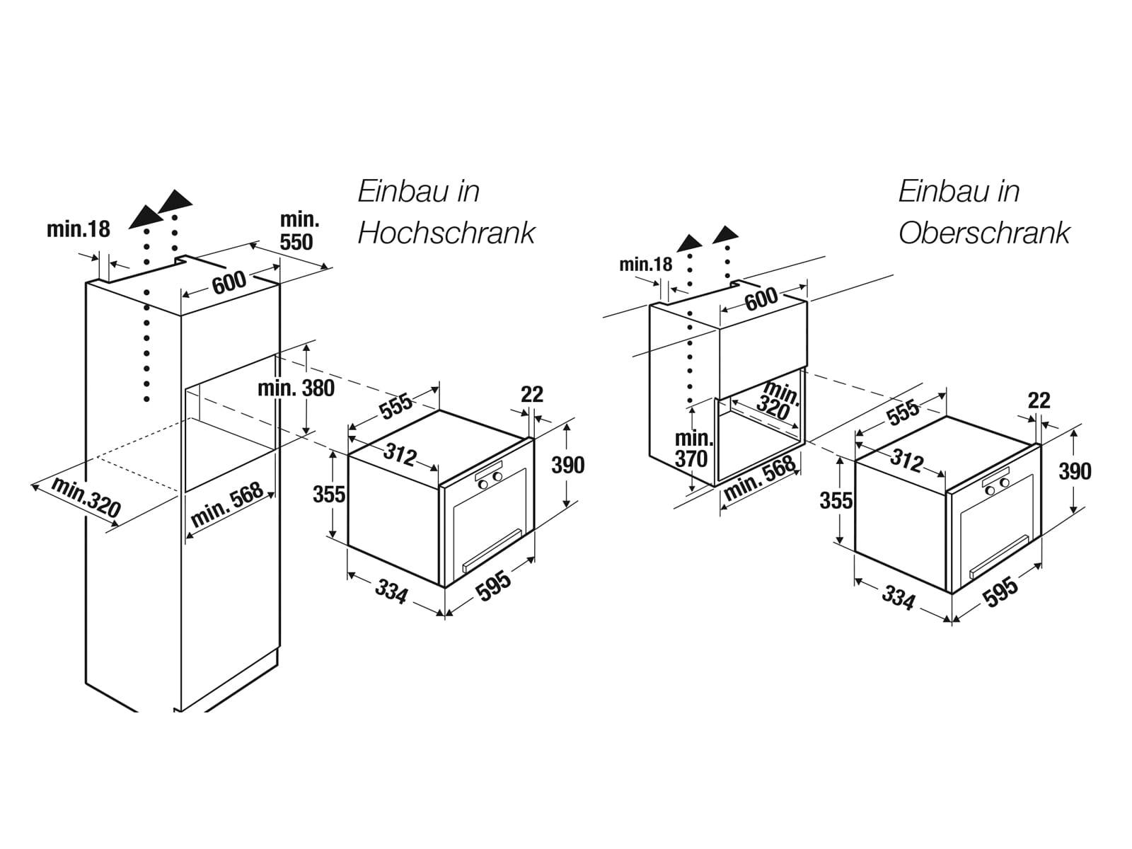 Küppersbusch MR 6330.0 S0 K-Series. 3 Einbau-Mikrowelle Schwarz/Edelstahl