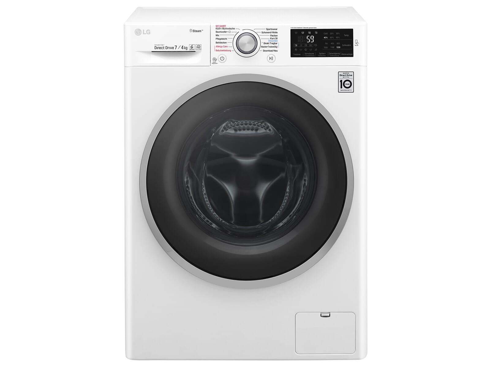 LG F 12WD 74SLIM Waschtrockner Weiß
