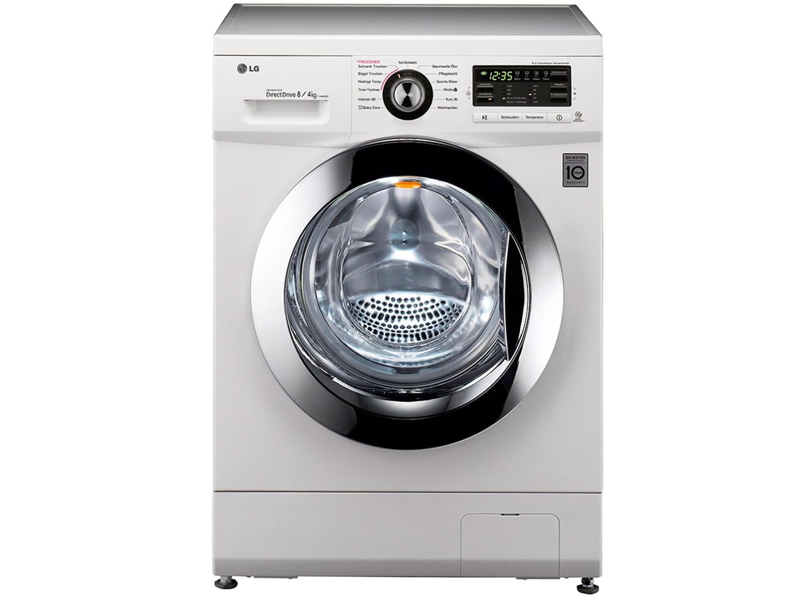 Lg f ad waschtrockner weiß