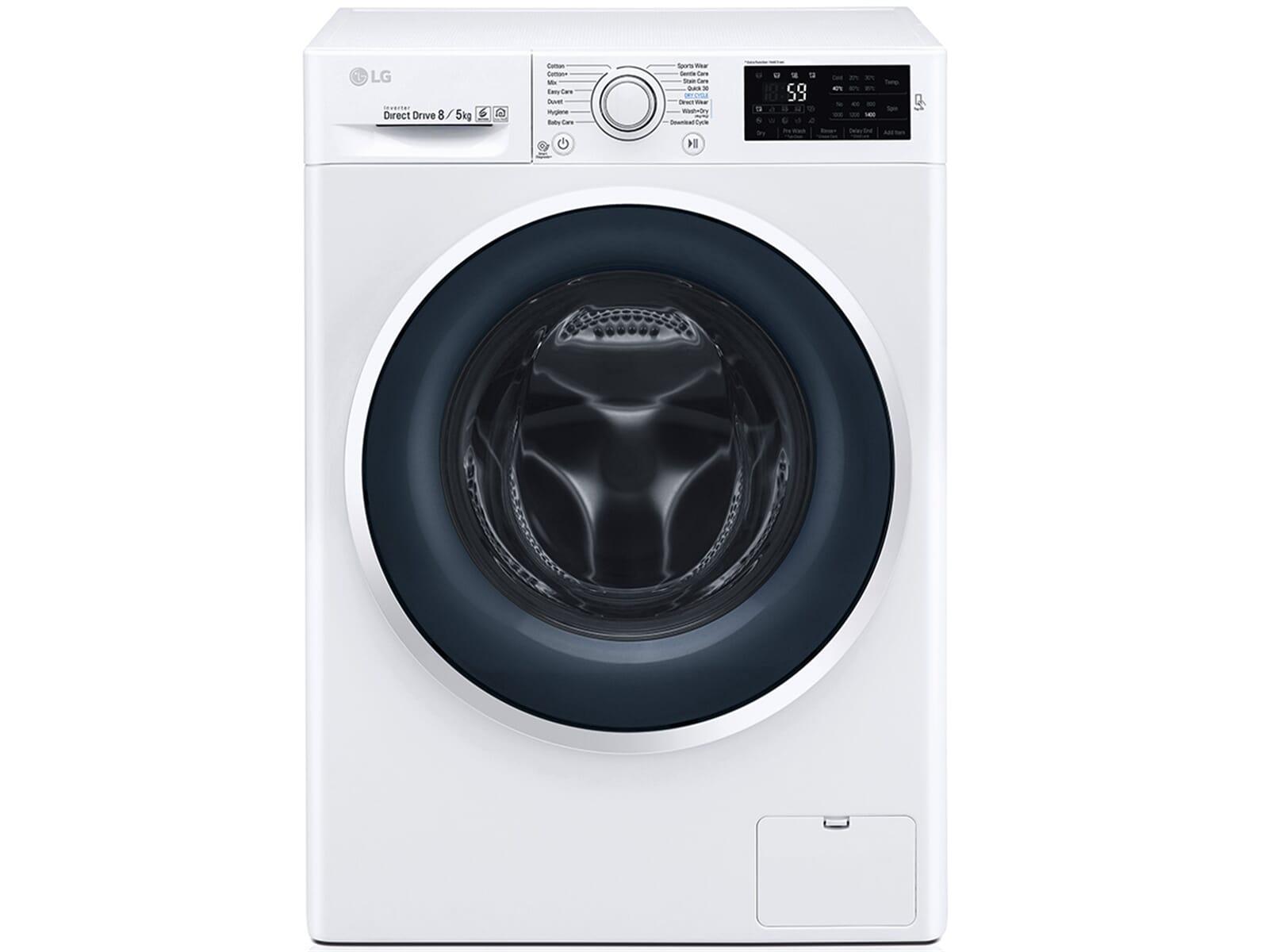 Lg f wd en waschtrockner weiß