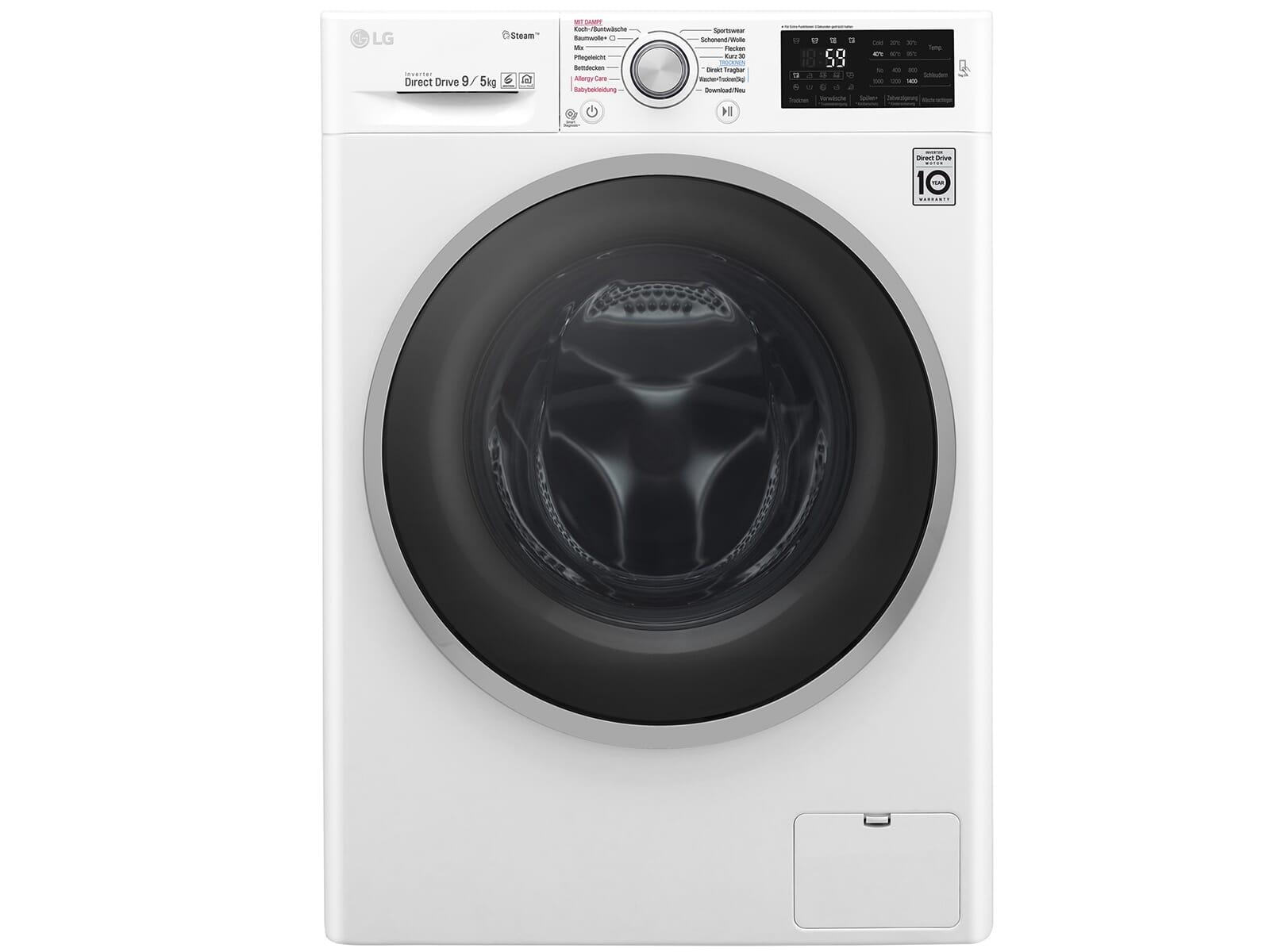 LG F 14WD 95TS1 Waschtrockner Weiß