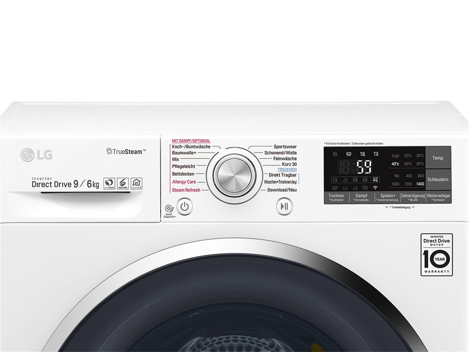 Lg f 14wd 96th2 waschtrockner weiß ebay