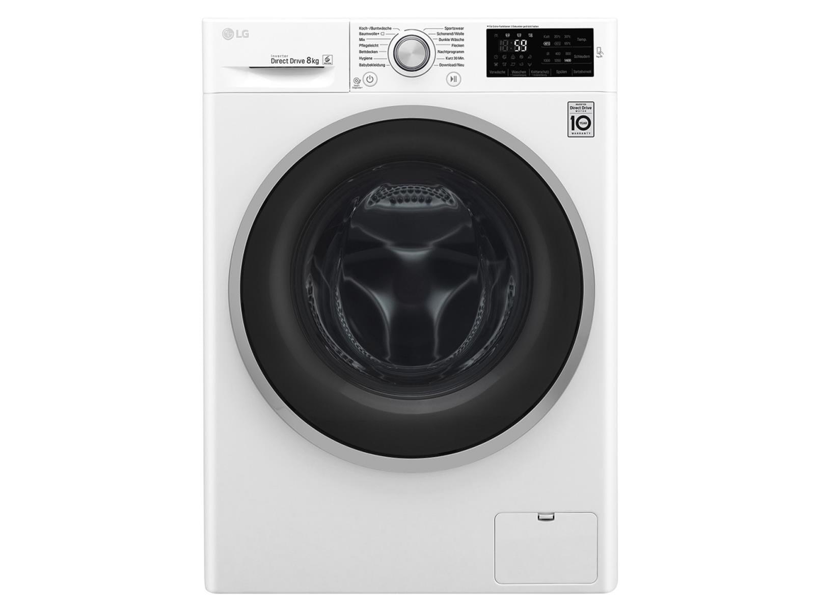 LG F 14WM 8CN1 Waschmaschine Weiß