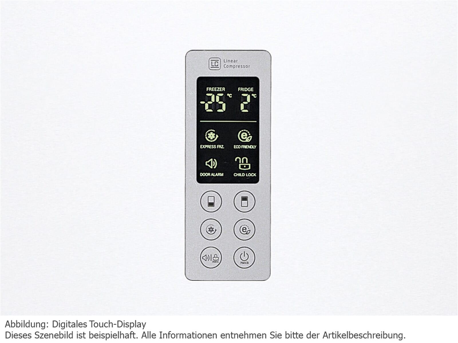 LG GBB 530 SWQPB Kühl-Gefrierkombination Premium Weiß