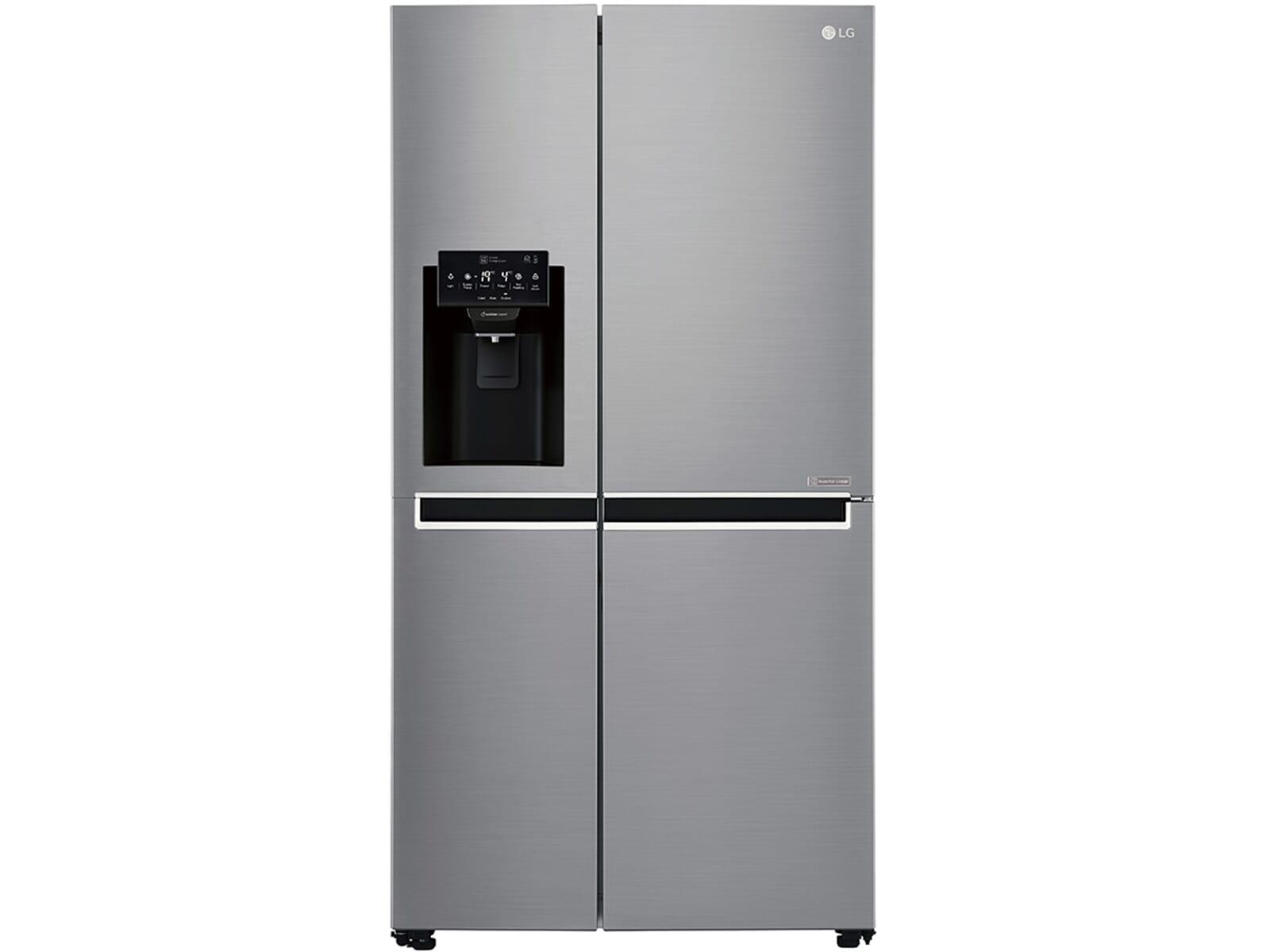 Kühlschrank B Ware : Lg gsj pztz side by side kühl gefrier kombination steel b ware