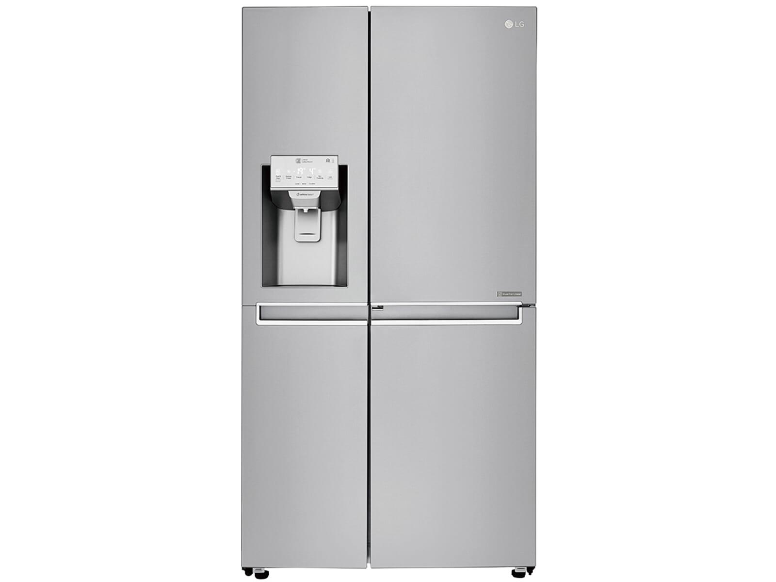 Lg Side By Side Kühlschrank Zieht Kein Wasser : Lg gsl nebf side by side kühl gefrier kombination edelstahl