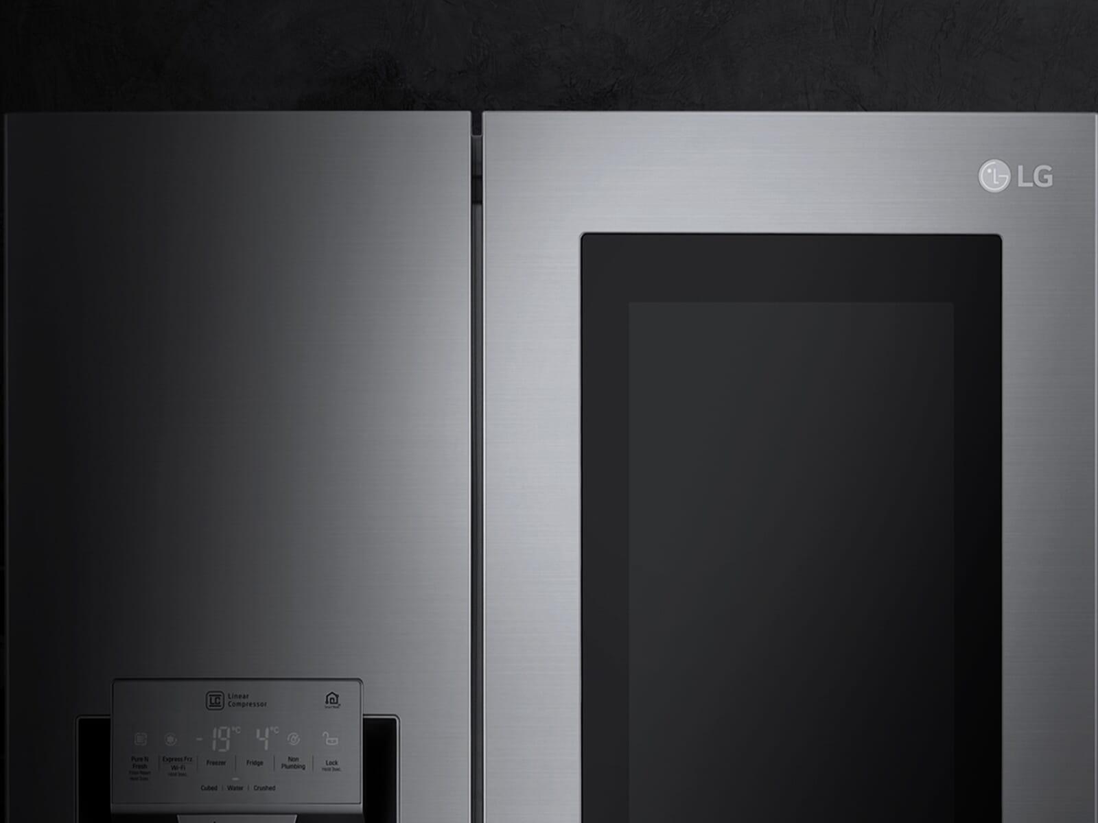 LG GSX 961 NEAZ Side by Side Kühl-Gefrier-Kombination Edelstahl