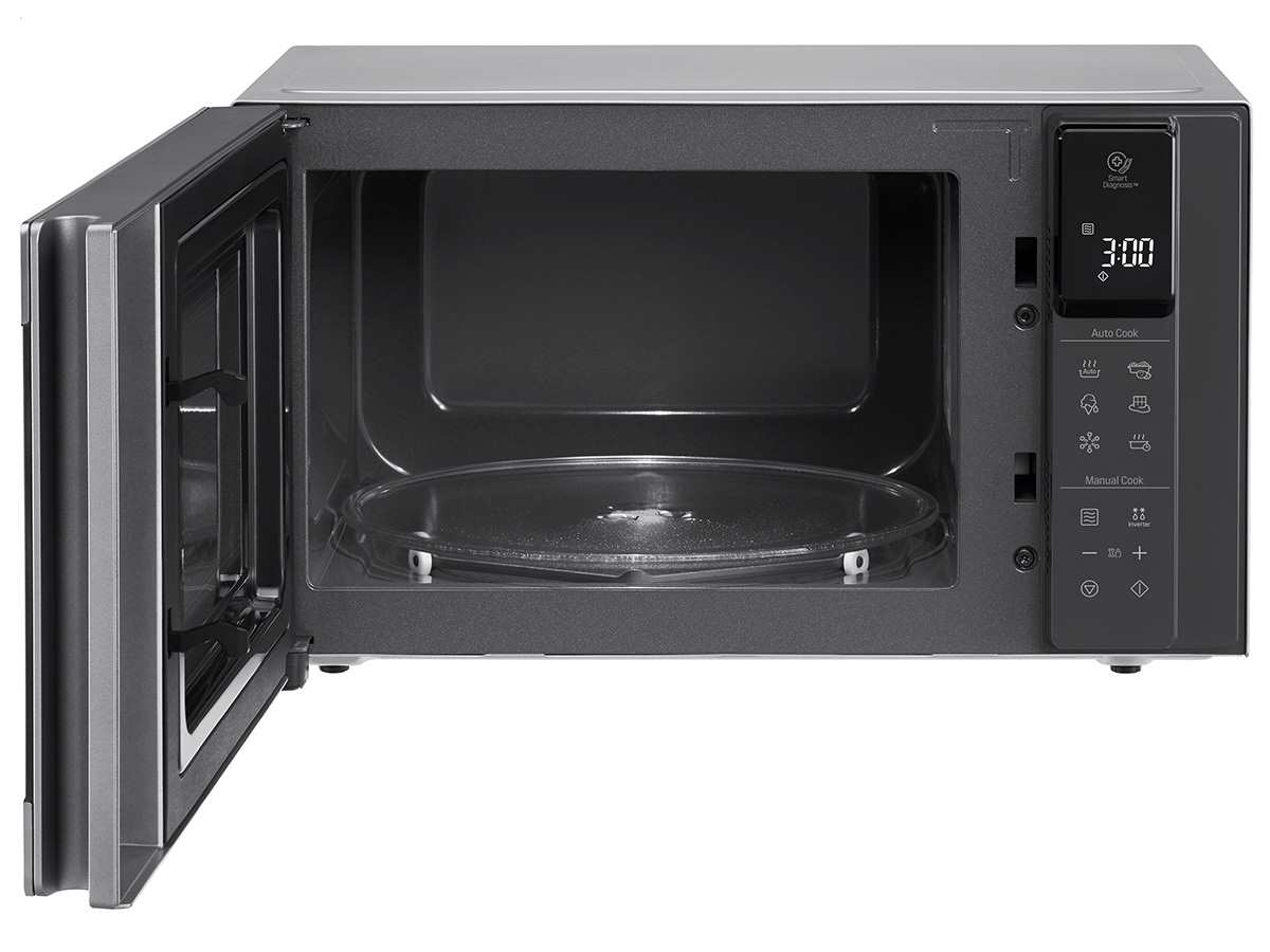 LG MS 2595 CIS Stand-Mikrowelle Edelstahl