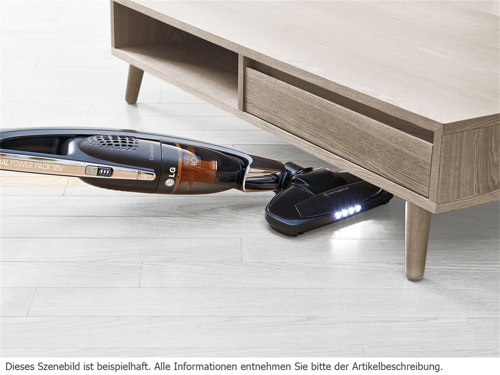 LG VS 8404 SCW Kabelloser Handstaubsauger Schwarz / Lime Green