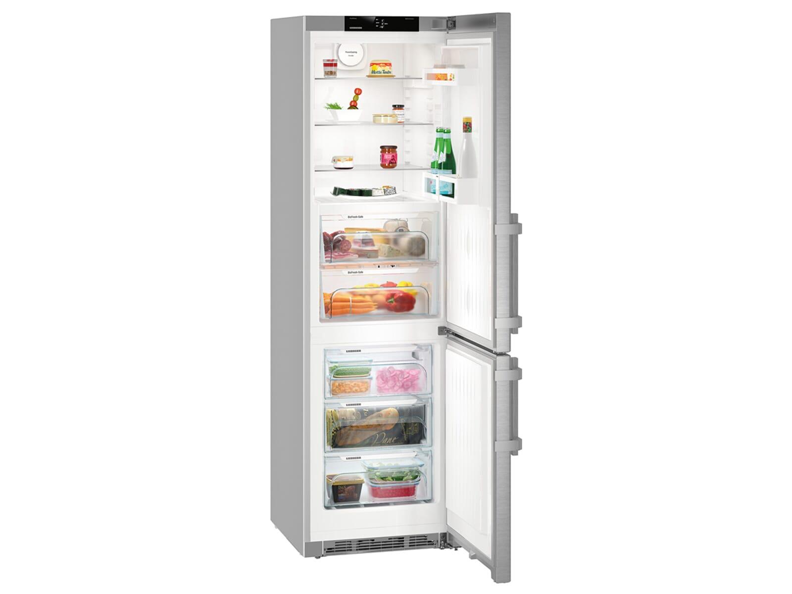 Liebherr Kühlschrank Edelstahl : Liebherr cbef comfort kühl gefrierkombination edelstahl a