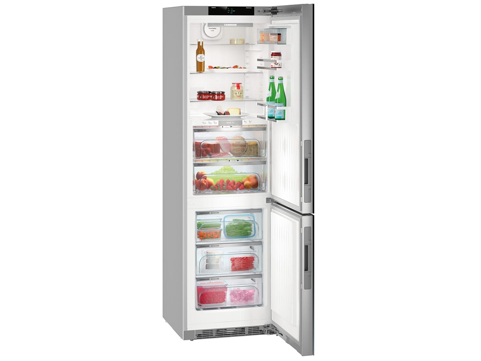Retro Kühlschrank Liebherr : Liebherr cbnigb premium biofresh kühl gefrierkombination a