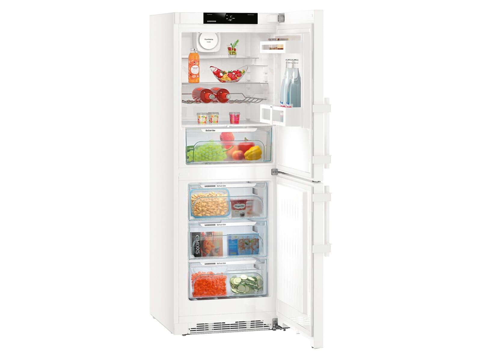 Kühlschrank Gefrierkombination : Liebherr cn 3715 comfort kühl gefrierkombination weiß a