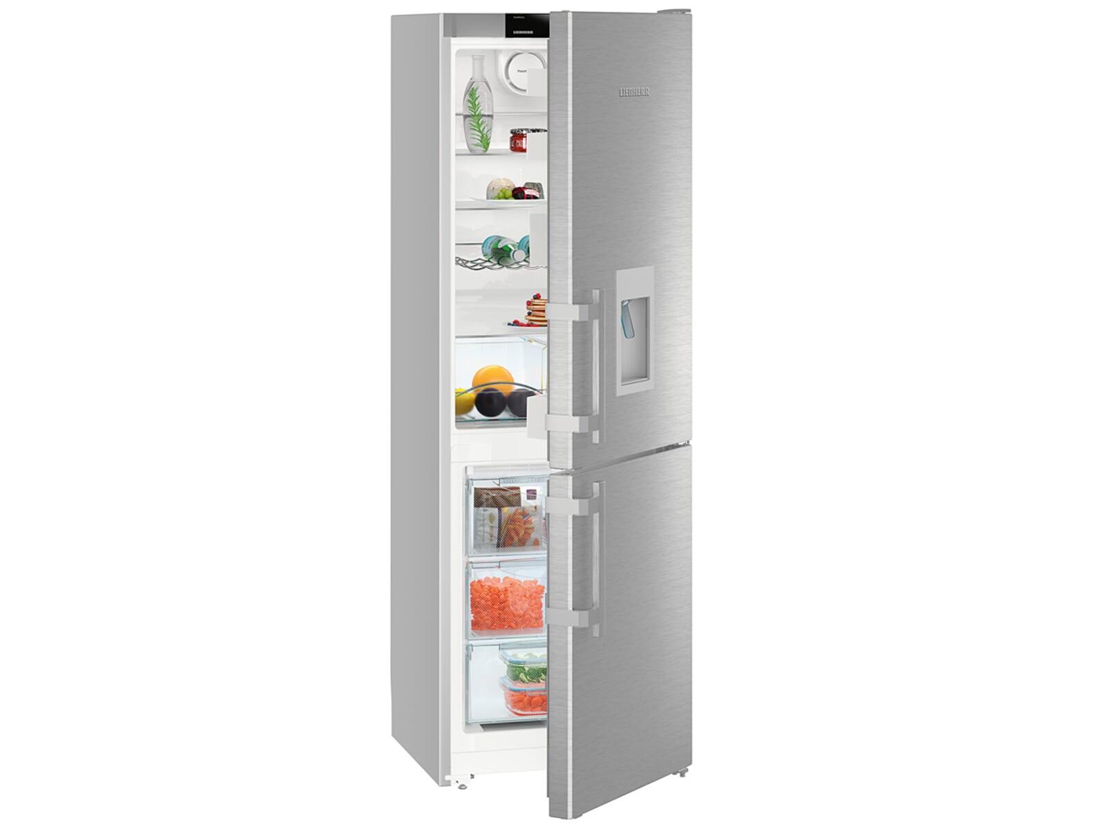 Retro Kühlschrank Liebherr : Liebherr cnef comfort kühl gefrierkombination edelstahl a