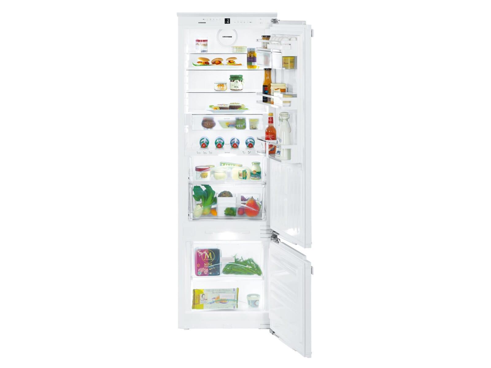 liebherr icbp 3266 premium biofresh einbau kühl gefrierkombination