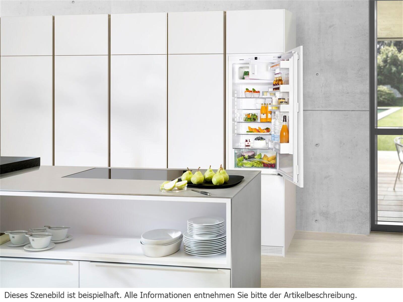 Kühlschrank Mit Gefrierfach Klein : Liebherr ik comfort einbaukühlschrank mit gefrierfach a