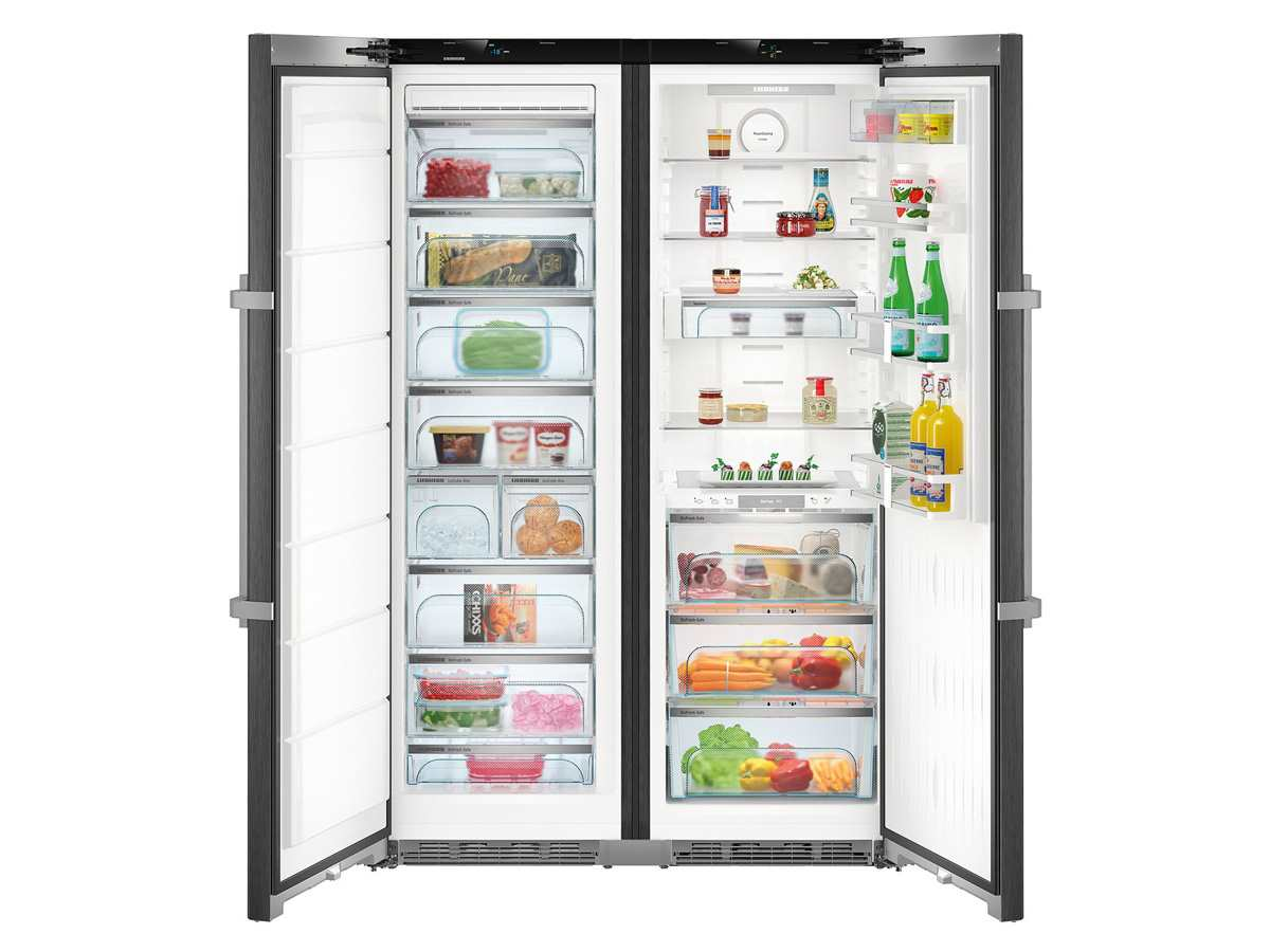 Side By Side Kühlschrank Wasseranschluss Verlängern : Liebherr sbsef comfort side by side kühl gefrier kombination