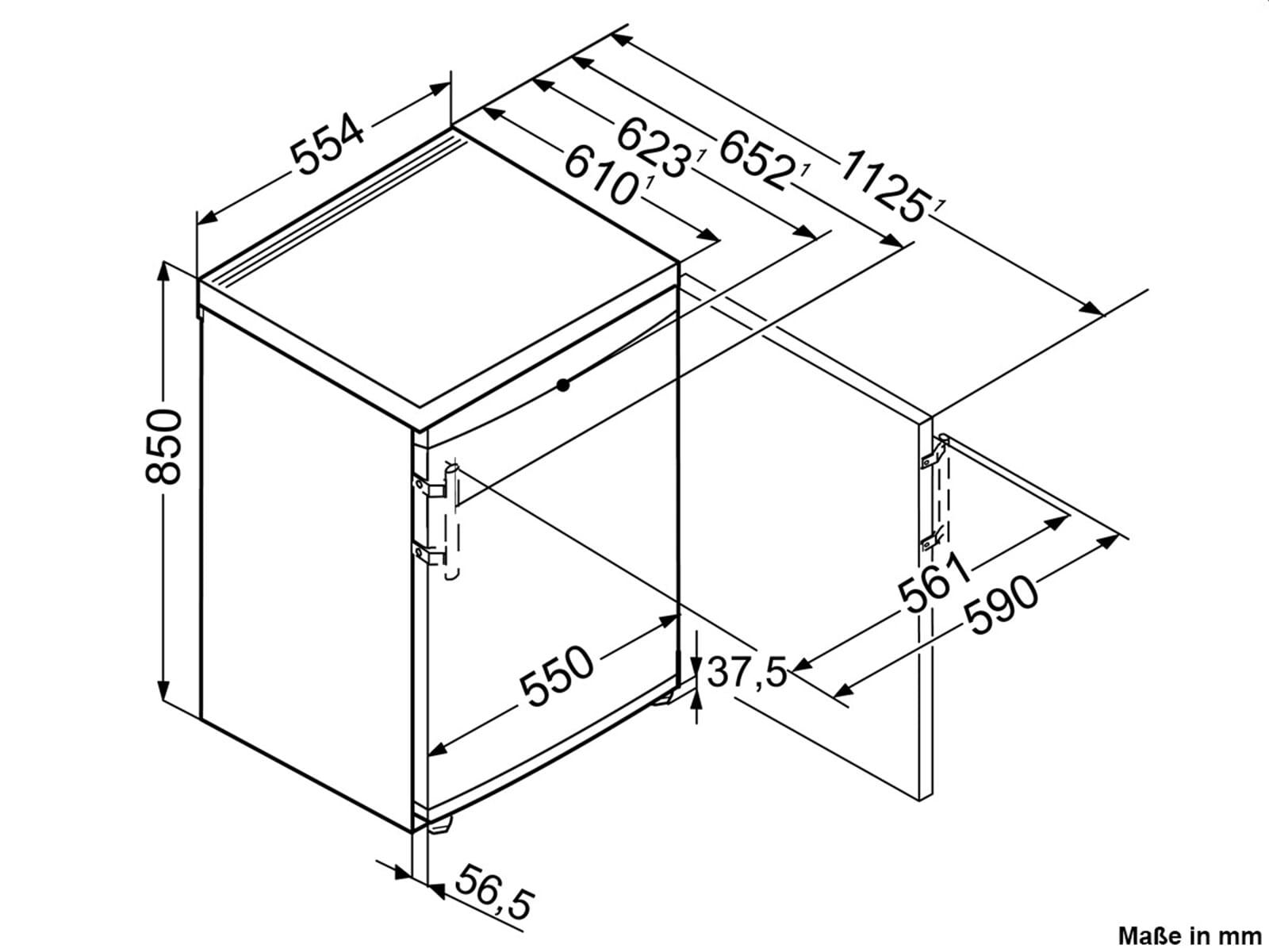 Liebherr TP1410 Comfort Standkühlschrank Weiß A++