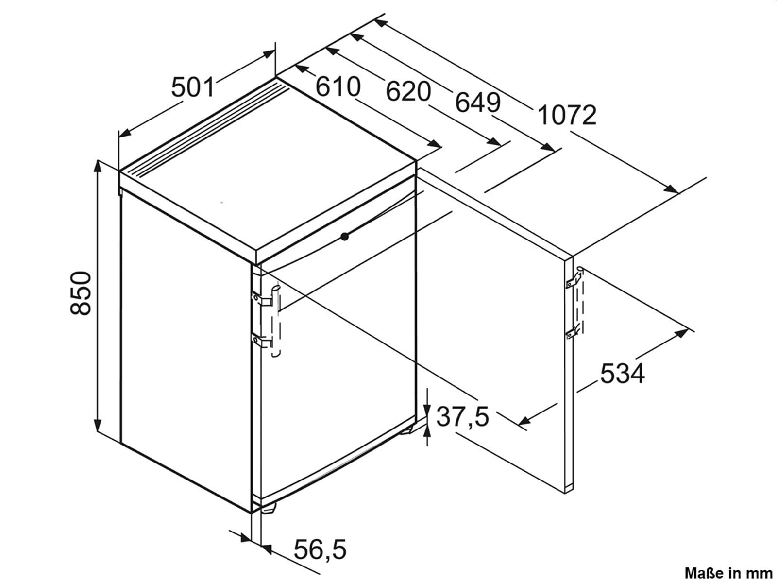 Liebherr TP1424 Comfort Standkühlschrank Weiß A++