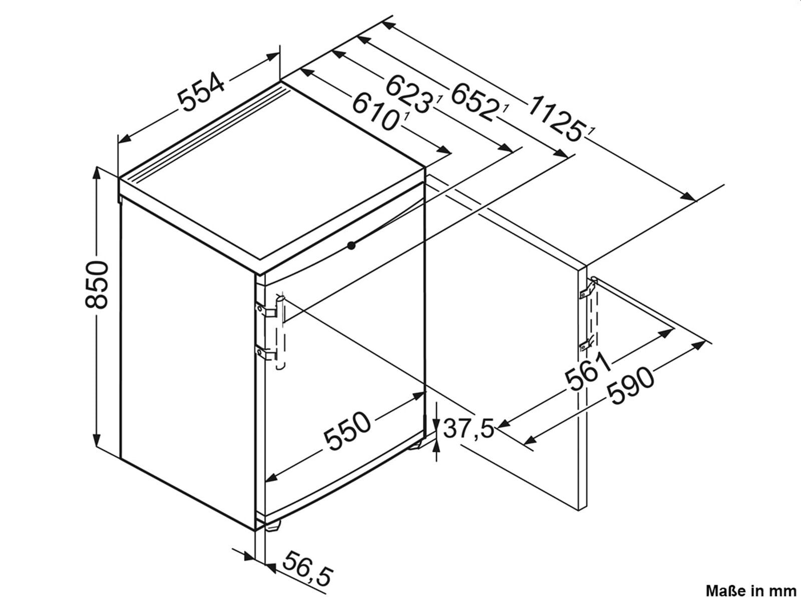 Liebherr TP1514 Comfort Standkühlschrank Weiß A++