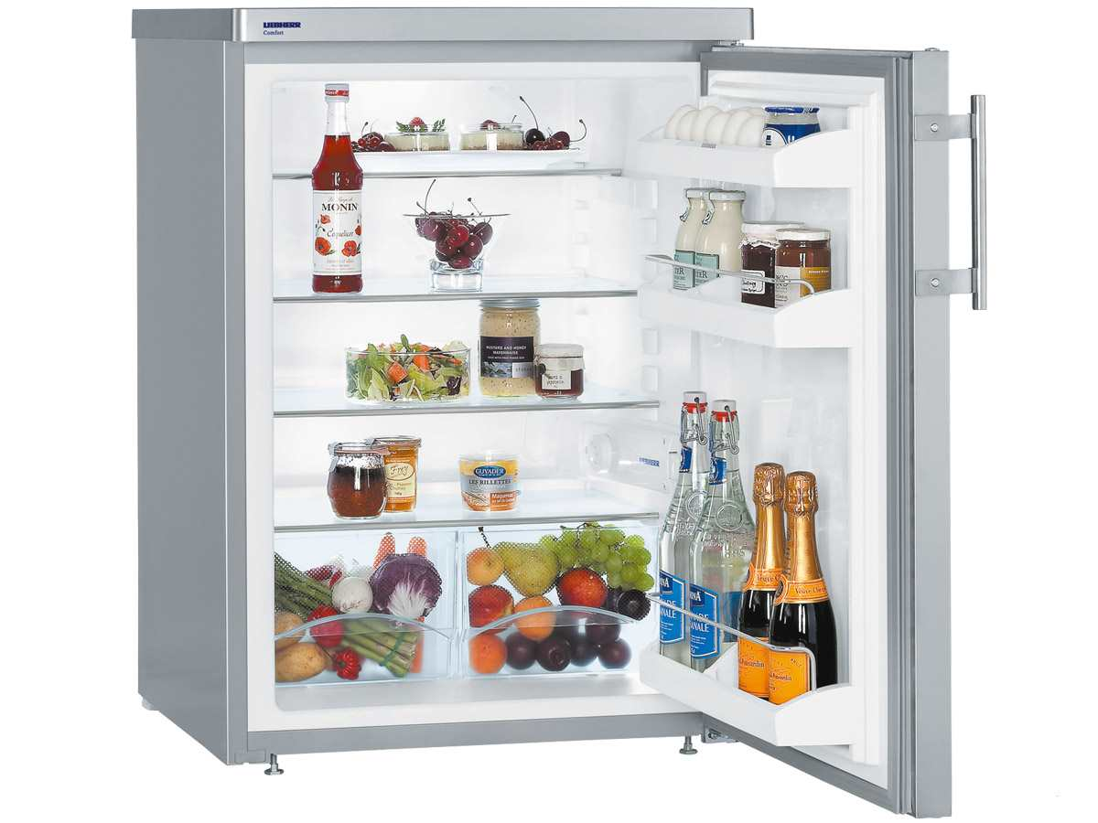 Liebherr TPesf1710 Comfort Standkühlschrank Edelstahl