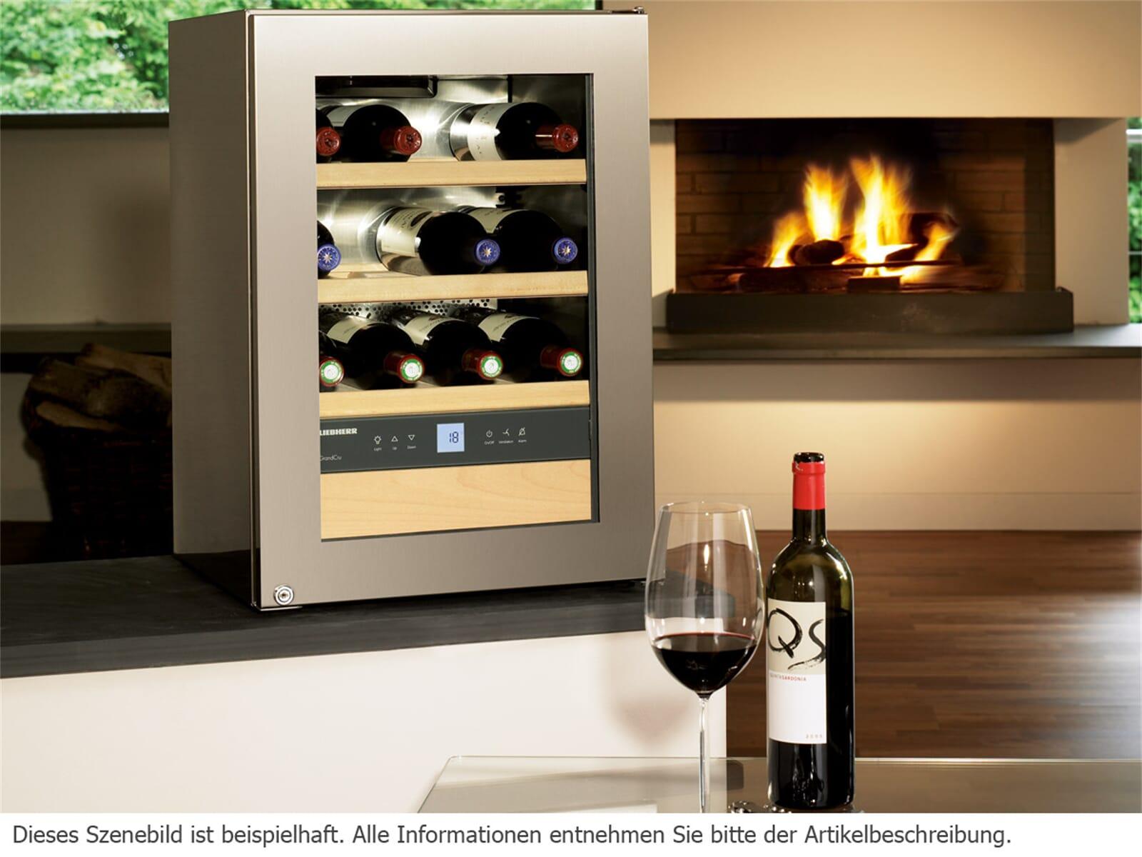 Liebherr WKes 653 GrandCru Stand Weinklimaschrank mit ...