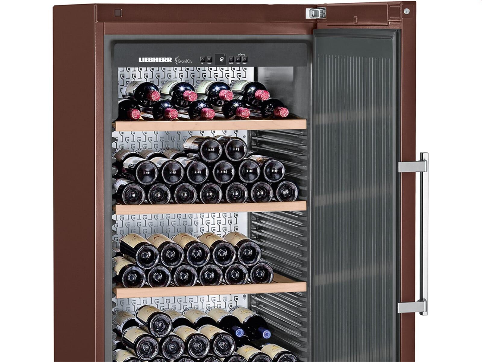 liebherr wkt 5551 grandcru stand weinklimaschrank terra f r 253 flaschen a. Black Bedroom Furniture Sets. Home Design Ideas