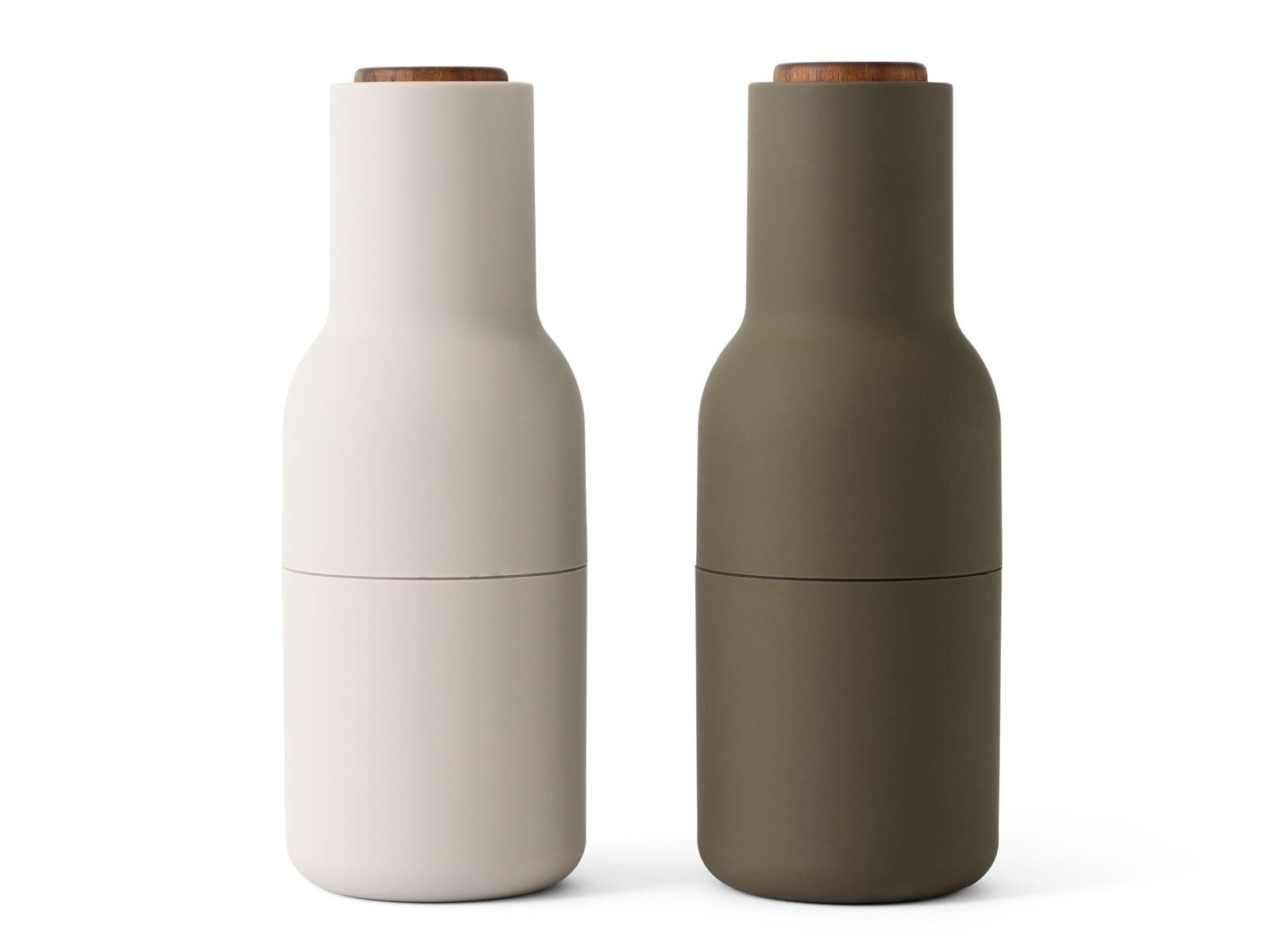 Menu 4415459  BottleGrinder - Salz-/Pfeffermühle Hunting Green/Beige