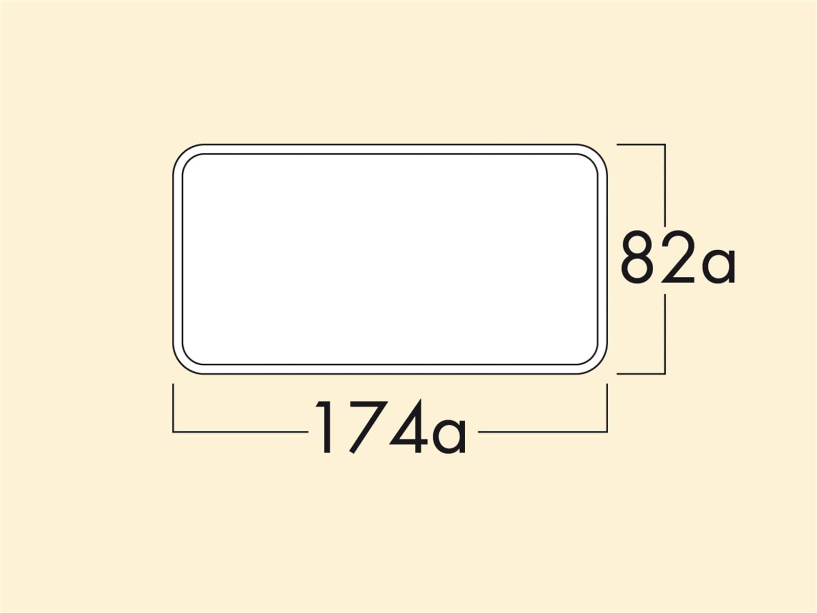 Compair 403.3.022 Klima-E flow 125 Mauerkasten