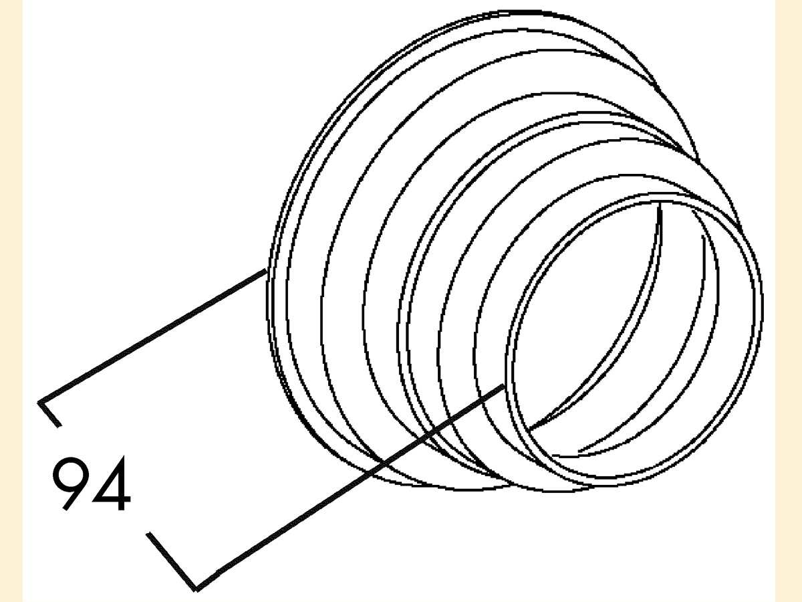 Compair 402.1.038 T-STU-ST Stufenring