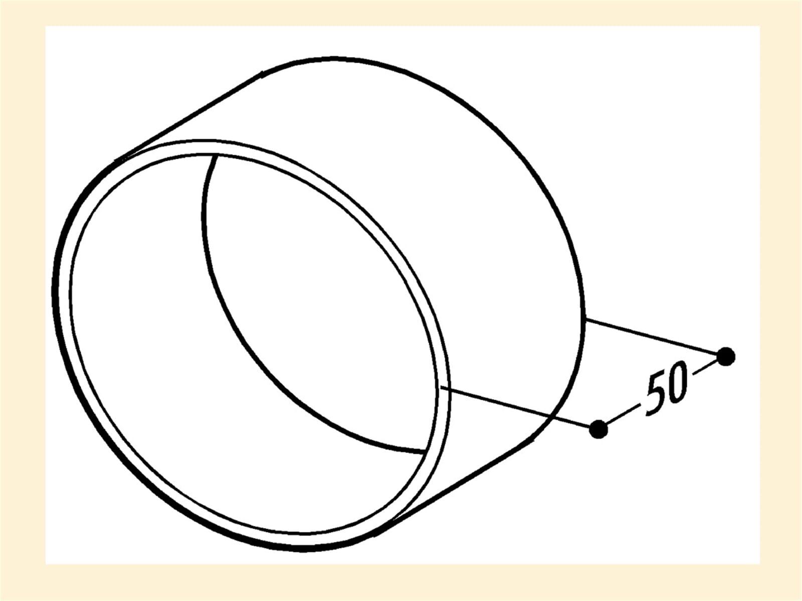Compair 402.1.127 T-VBS 125 Rohr- und Schlauchverbinder