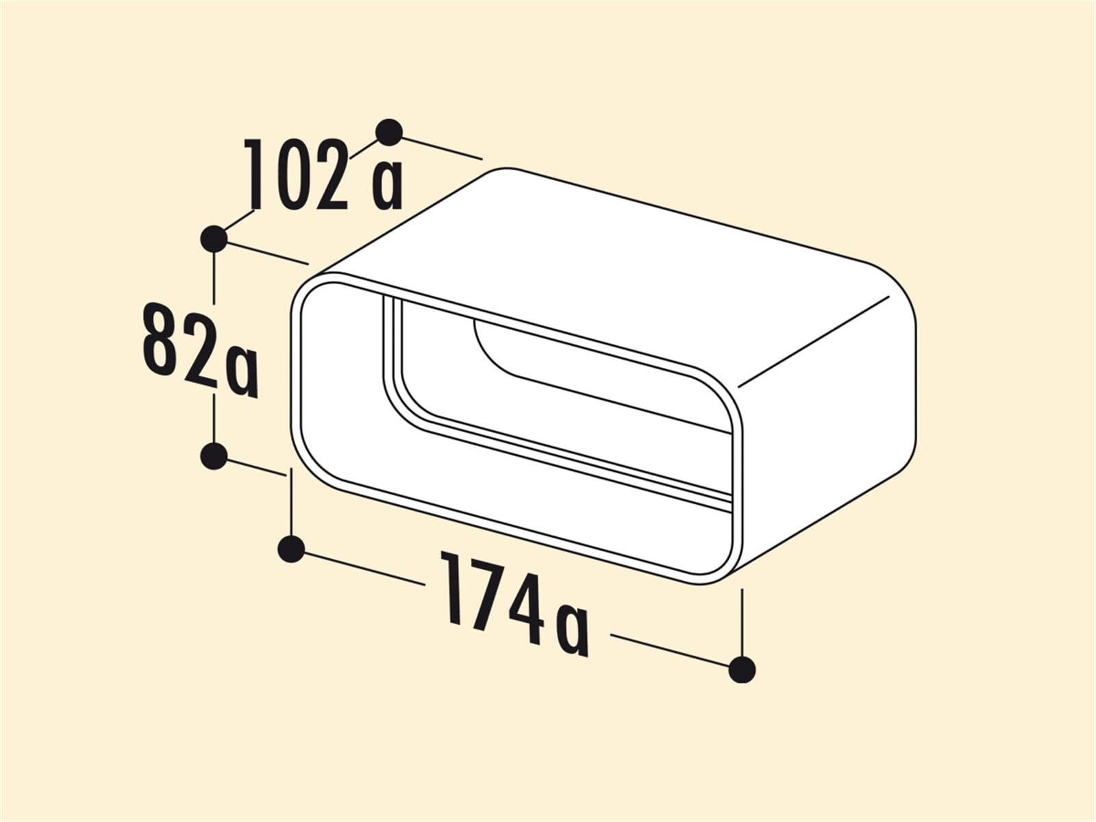 Compair 403.3.005 MF-RVB Rohrverbinder