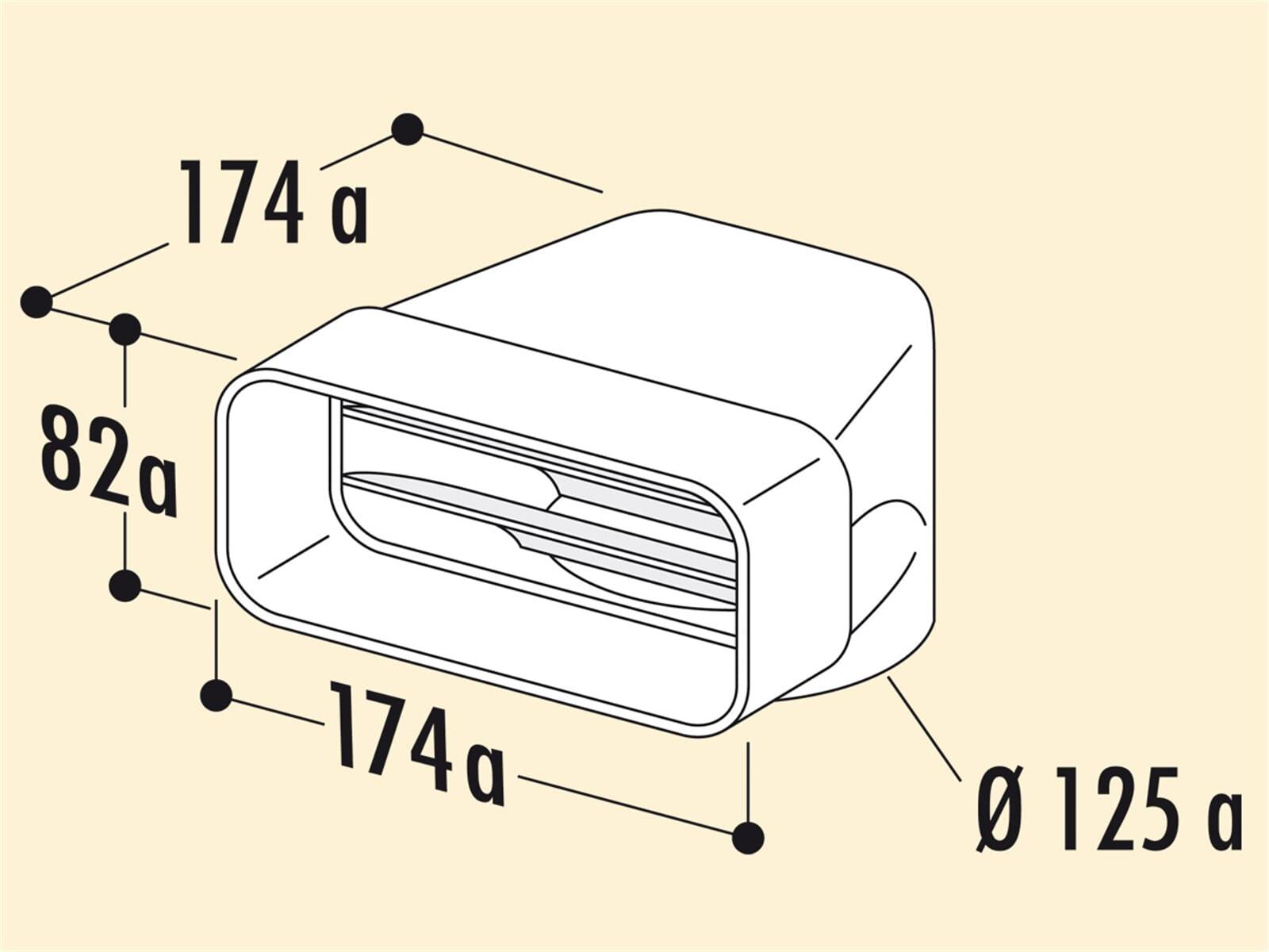 Compair 403.3.010 MF-UR Umlenkstück 90°