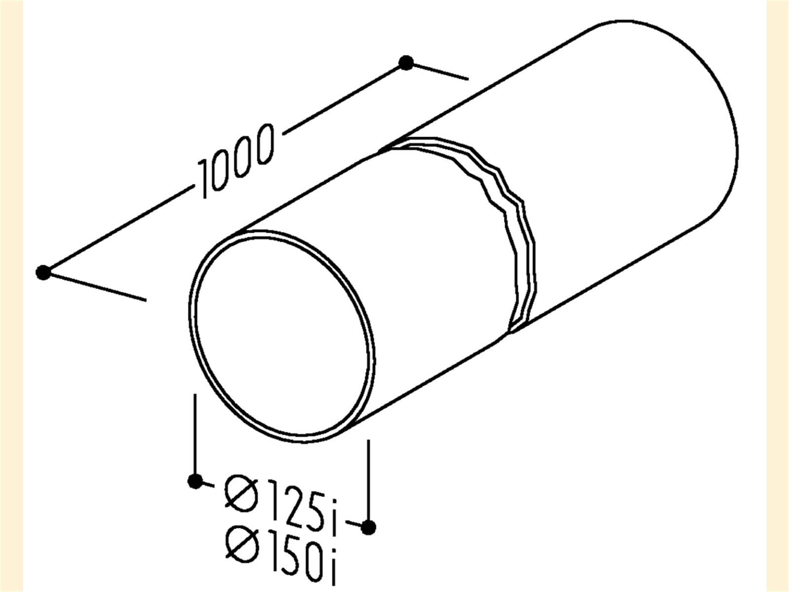 Compair 405.2.002 R-1000 Rundrohr