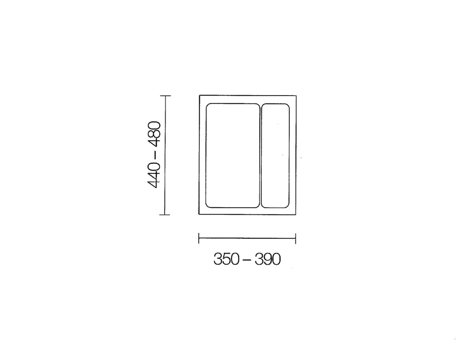 Naber 803.4.134 Mehrzweck-Einsatz 45er Breite
