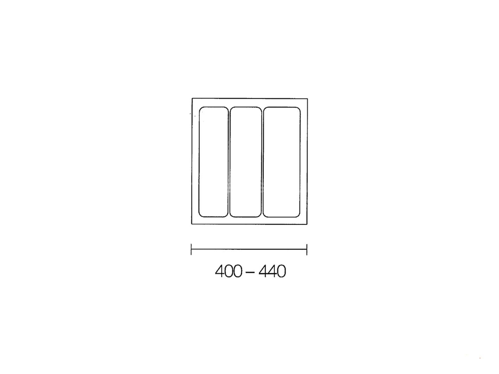 Naber 803.4.135 Mehrzweck-Einsatz 50er Breite