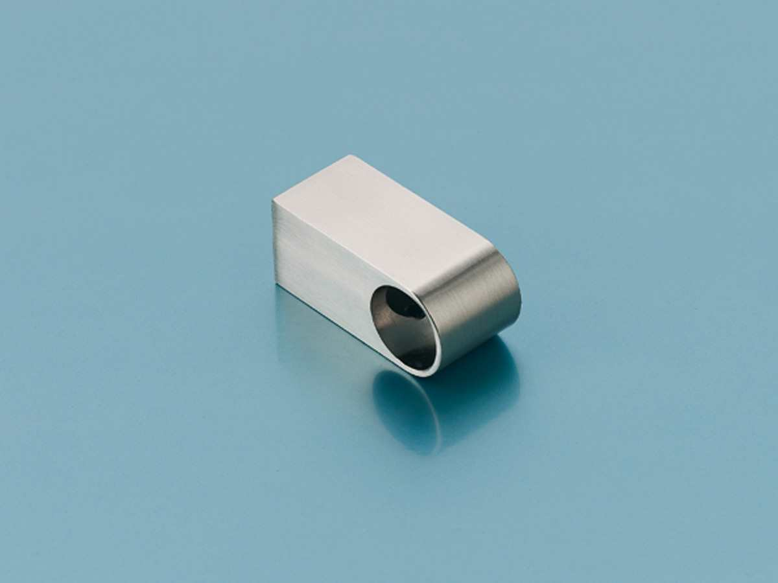 Naber 805.3.054 - Solido Rohrhalter eckig chrom poliert